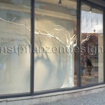 015 Stilisierter Kunstbaum weiß H.270cm , Dm.100x400cm-1