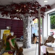 018 kunstbaum h.260cm,dm.320cm